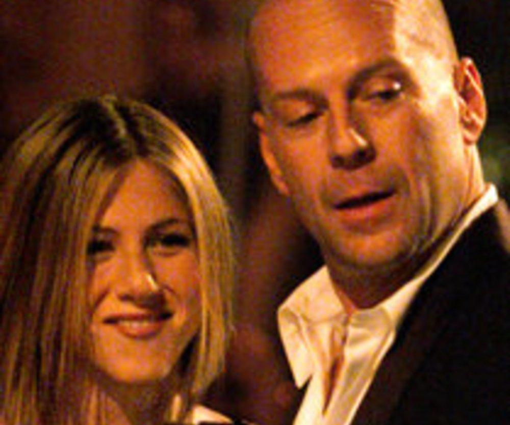 Jennifer Aniston: Romantikkomödie mit Bruce Willis?