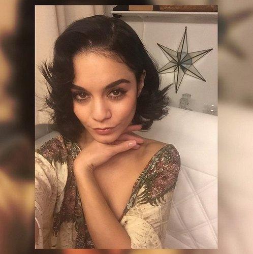 Vanessa Hudgens zeigt ihre kurzen Haare