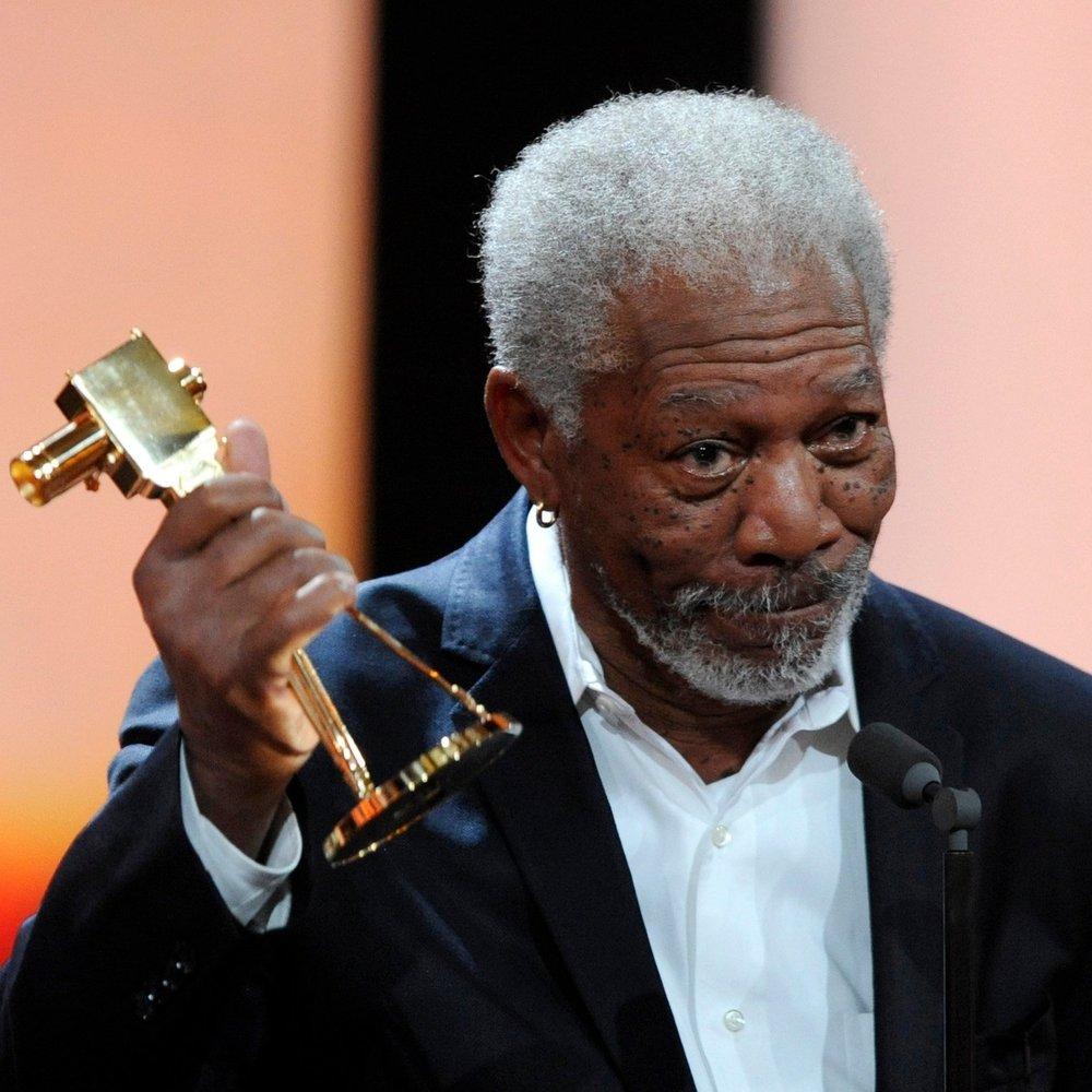Morgan Freeman für sein Lebenswerk geehrt