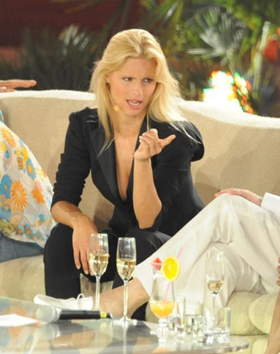 Moderatorin Michelle Hunziker im Juni 2009