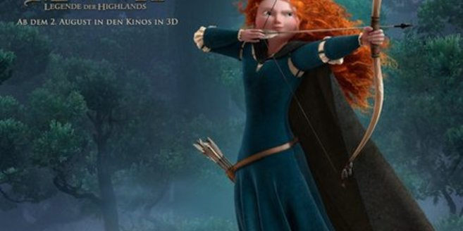 Merida - die schottische Prinzessin