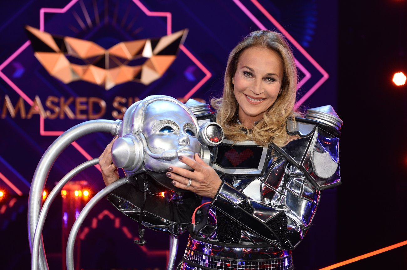 The Masked Singer Roboter Caroline Beil