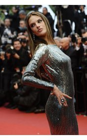 Alessandra Ambrosio in Cannes