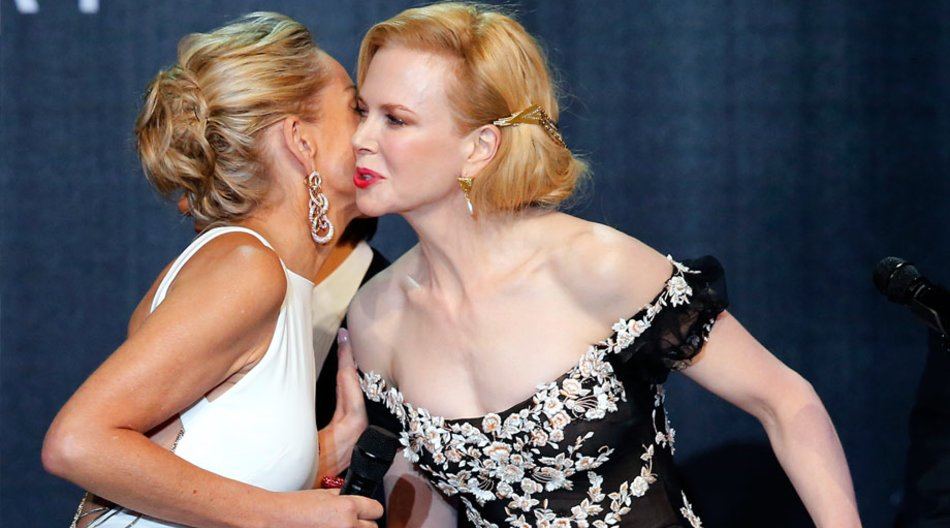 Sharon Stone und Nicole Kidman