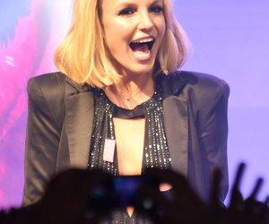 Britney Spears im Liebesglück