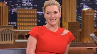 "NEW YORK, NY - OCTOBER 07: Kate Winslet Visits ""The Tonight Show Starring Jimmy Fallon"" at Rockefeller Center on October 7, 2015 in New York City. (Photo by Theo Wargo/NBC/Getty Images for ""The Tonight Show Starring Jimmy Fallon"")"