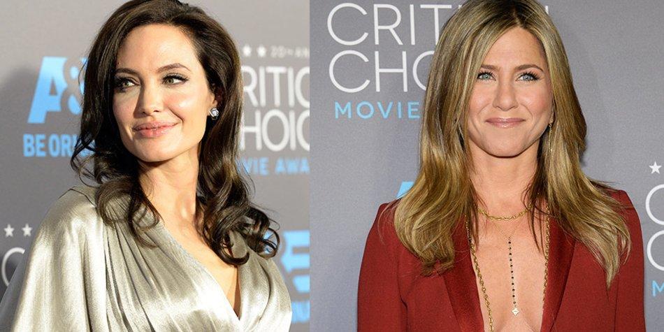 Angelina Jolie und Jennifer Aniston