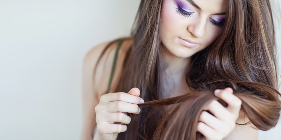 Glattes Haar