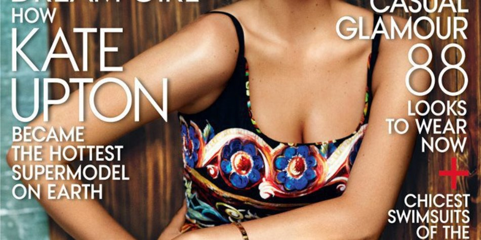Kate Upton auf der US-Vogue