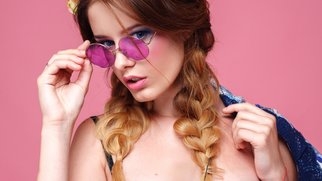 Bunte Brillengläser