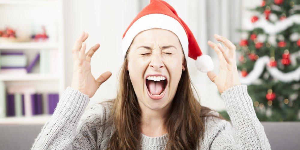 Weihnachten Hass