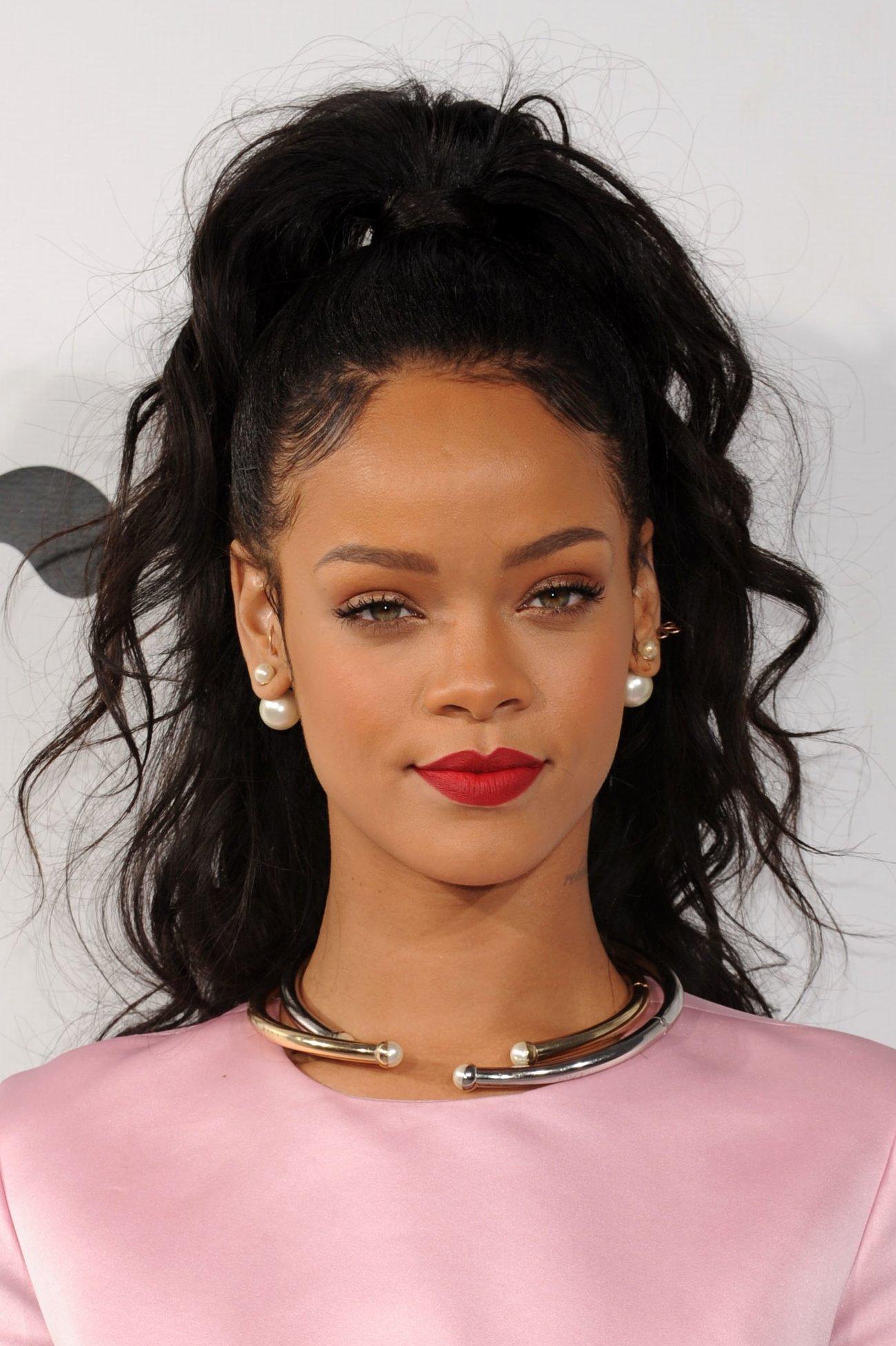 Rihanna Baby Hair
