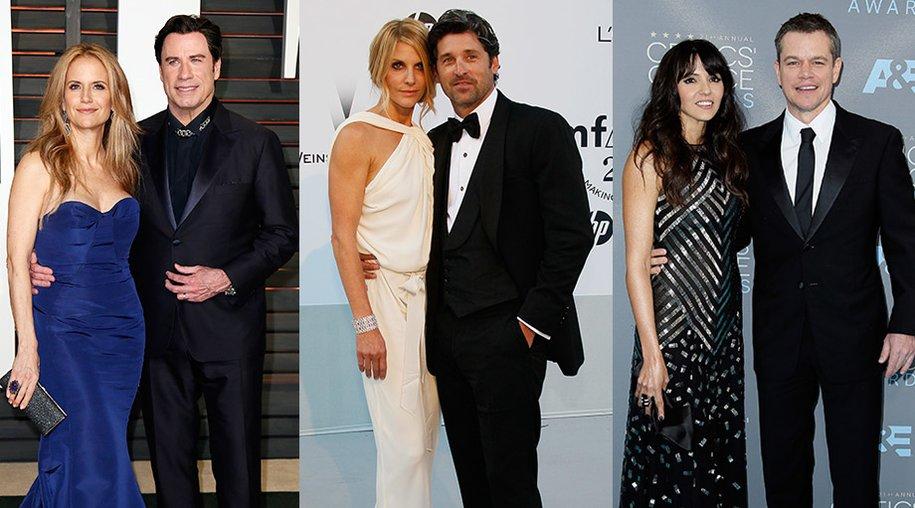 Stars wie John Travolta, Patrick Dempsey und Matt Damon sind mit ihren Fans verheiratet.