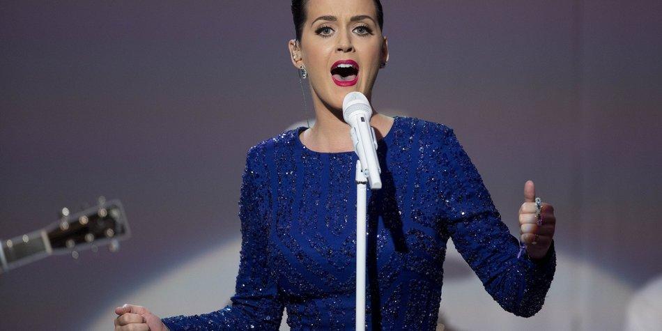 Katy Perry bringt Baby zum Tanzen