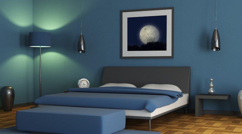 die ideale wandfarbe fürs schlafzimmer | erdbeerlounge.de - Wandfarbe Im Schlafzimmer