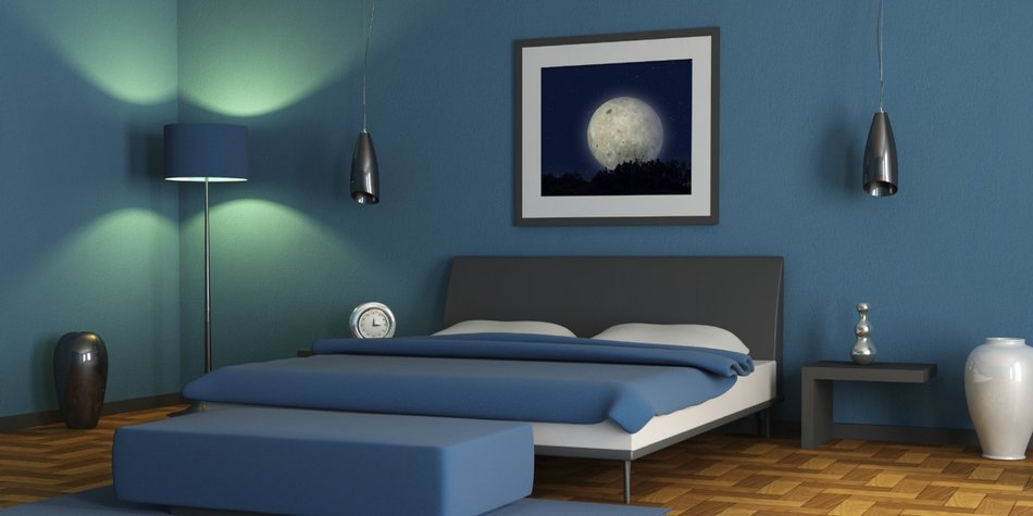 Besser Schlafen. Die Ideale Wandfarbe Fürs Schlafzimmer