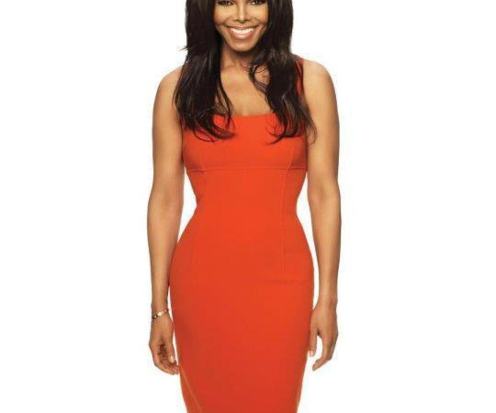 Janet Jackson wieder rank und schlank