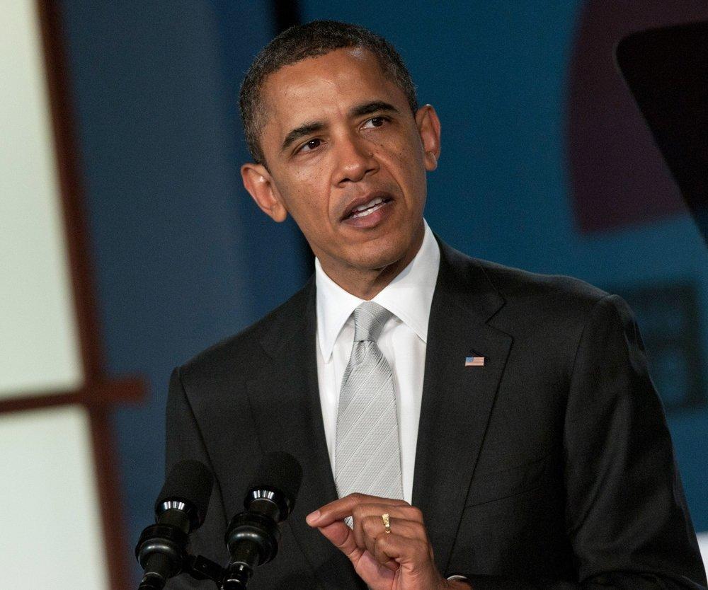 Barack Obama kauft Weihnachtsgeschenke