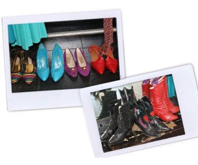 Schuh-Shopping in Soho