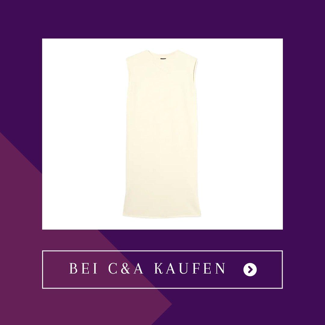 C&A Kleid mit Schulterpolstern