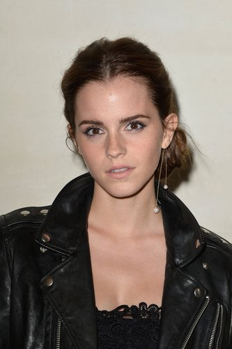 Emma Watson: Wilder Haarknoten