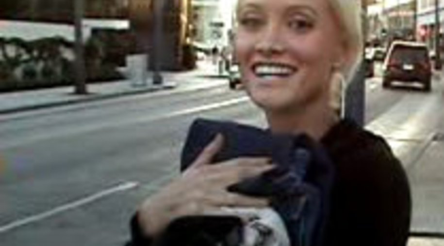 Holly Madison im Glück