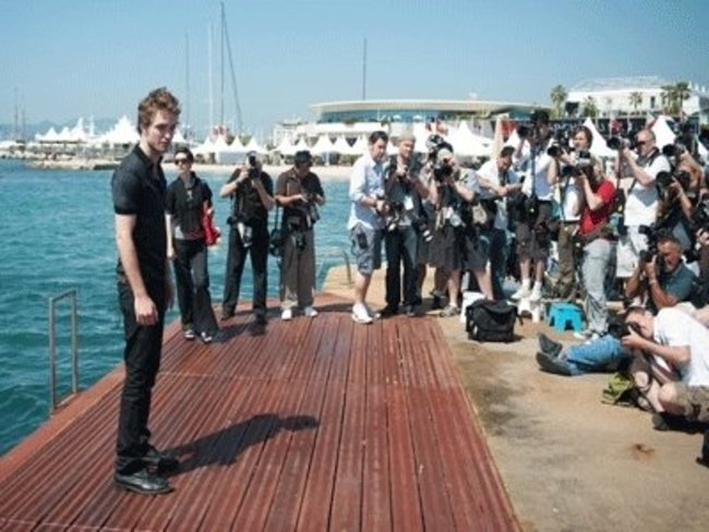 Robert Pattinson in Cannes 2009