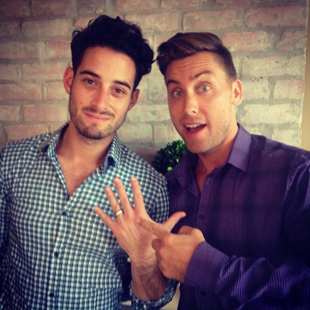 `N Sync: Lance Bass hat sich verlobt!