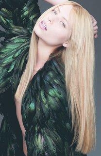 Der Klassiker: Lange blonde Haare