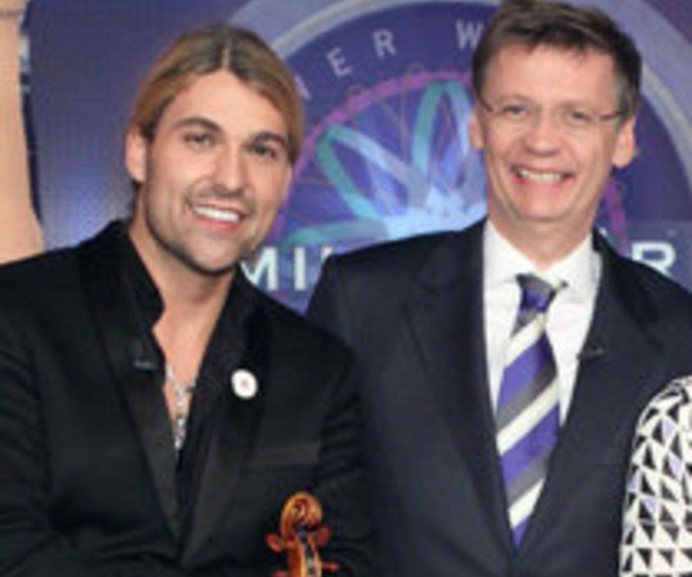 Wer wird Millionär: Das Promi-Special mit David Garrett