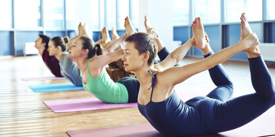 Das Ganzheitliche Konzept macht Yoga zu etwas Besonderem.