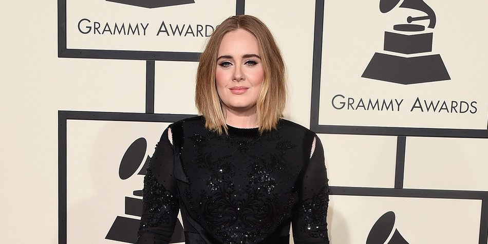 LOS ANGELES, CA - FEBRUARY 15: Singer Adele attends The 58th GRAMMY Awards at Staples Center on February 15, 2016 in Los Angeles, California. (Photo by Jason Merritt/Getty Images)