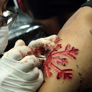 Cutting Tattoo