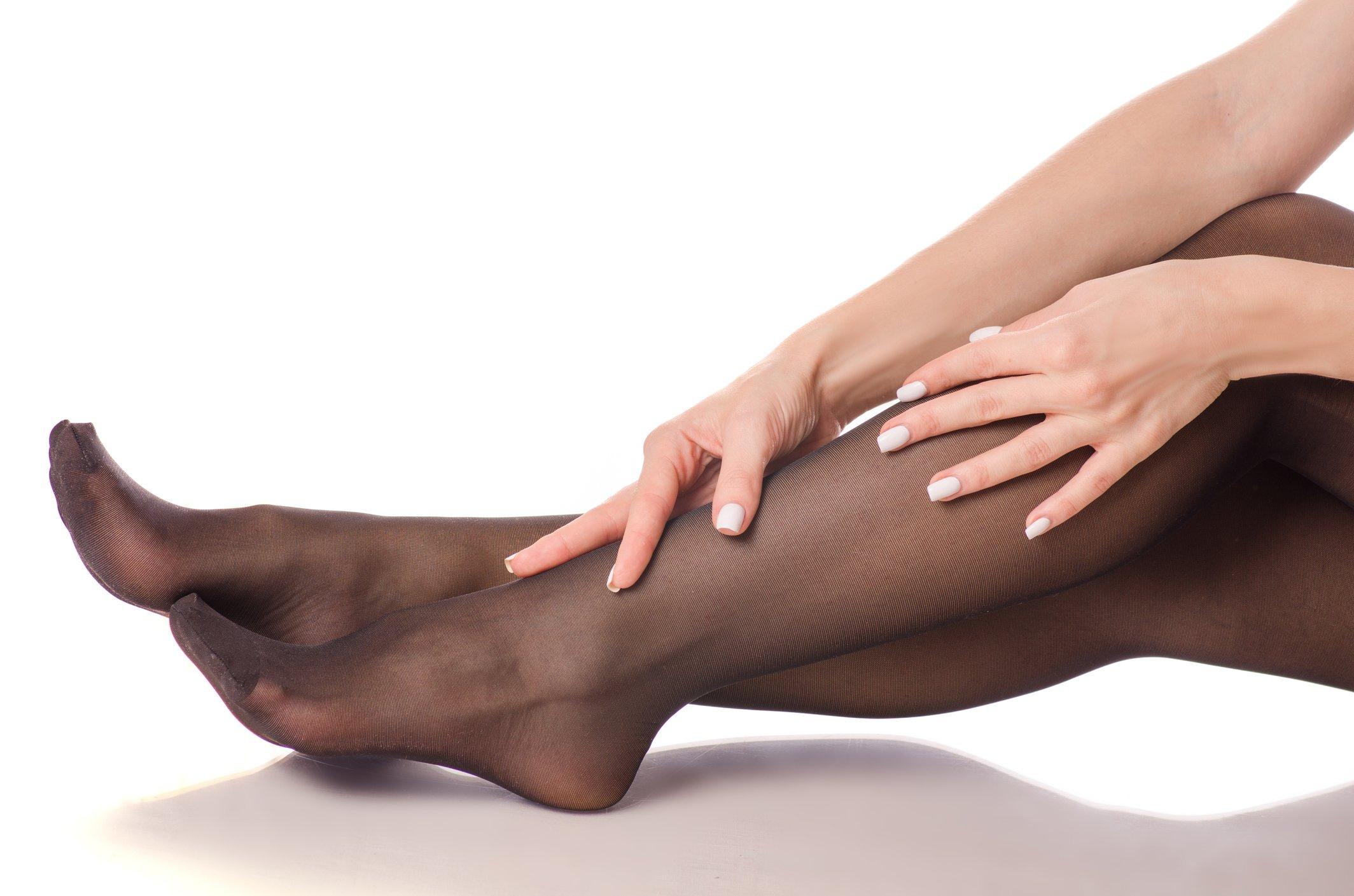 Unreinheiten an den Beinen