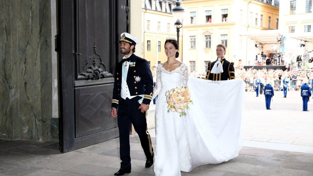 Sofia Hellqvist hatte genaue Vorstellungen von ihrem Hochzeitskleid