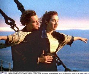 Titanic mit Leonardo DiCaprio