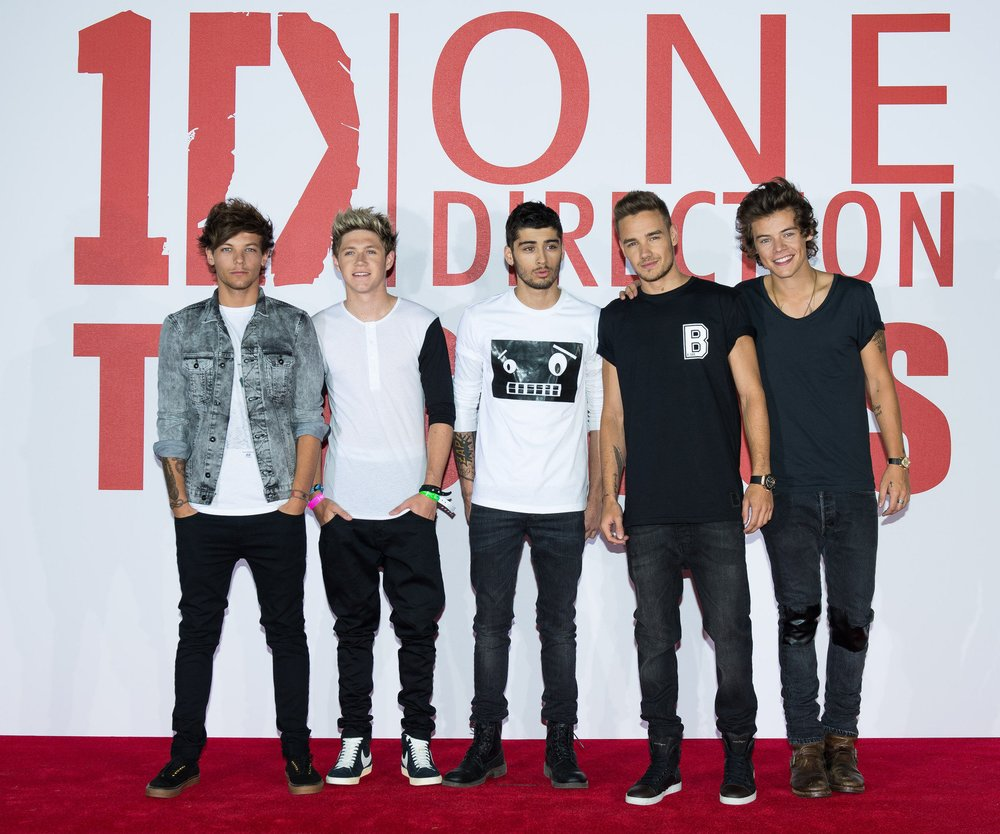 One Direction promoten ihre neue Single mit Kinderfotos