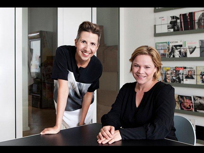 Kerstin Geffert und Silke Bolms