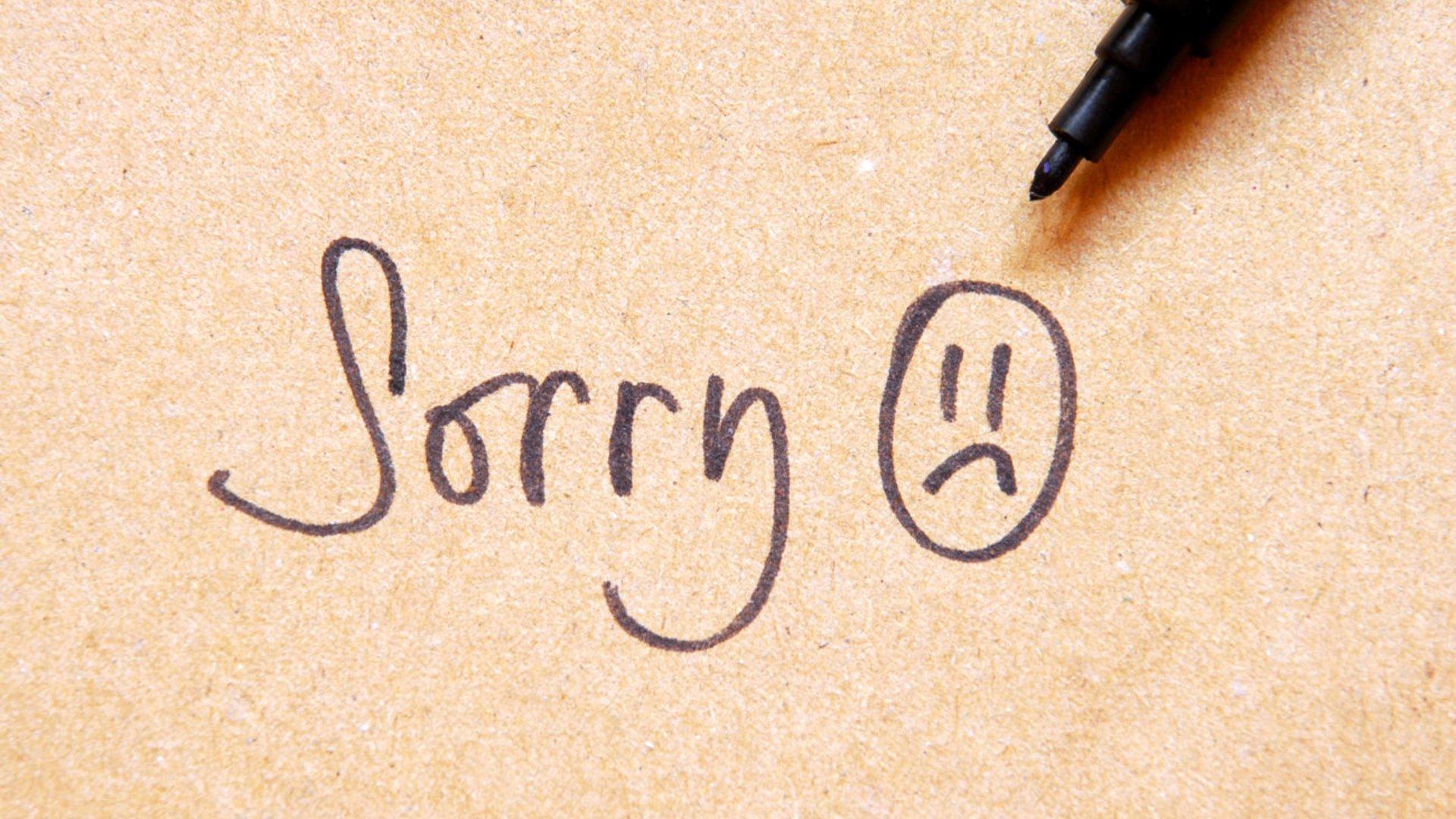 Für freundin entschuldigungsschreiben Entschuldigungsbriefe Liebe