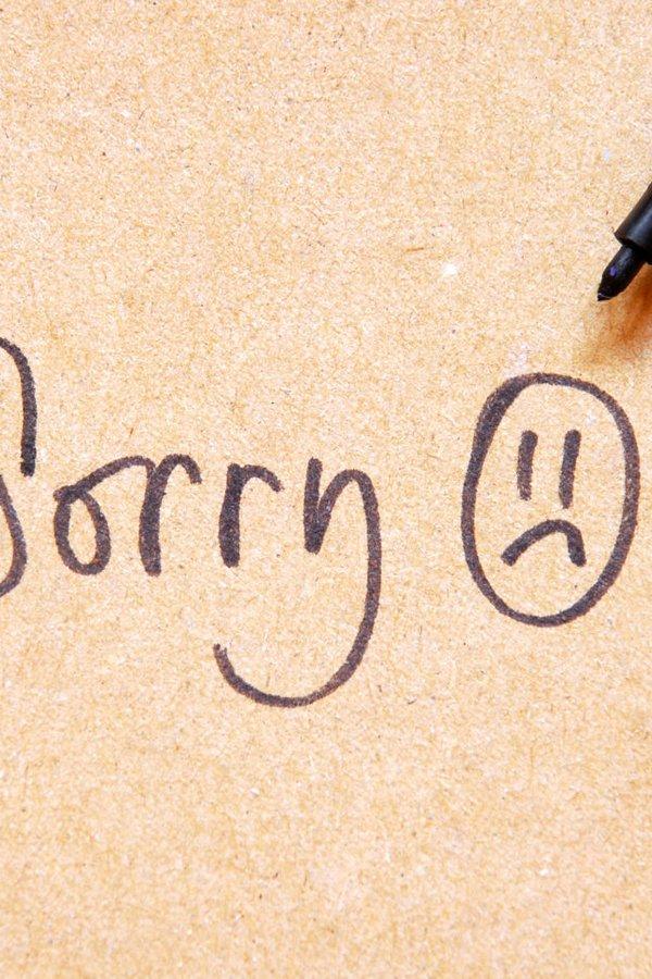 bei freundin entschuldigen