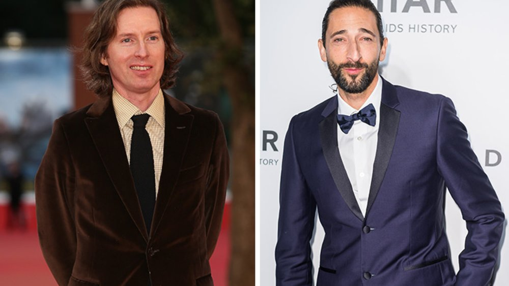 161129_EL-News_Wes-Anderson_Ernesto-Ruscio_Getty-Images_493350508_Adrien-Brody_Xaume-Olleros_Getty-Images-for-amfAR_516511600