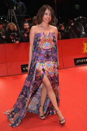 Jana Pallaske auf einer Filmpremiere 2009