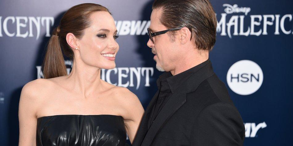 Brad Pitt und Angelina Jolie haben geheiratet