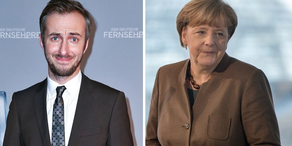 160826_EL News_Jan Böhmermann-Angela Merkel_Mathis Wienand_Getty Images_520868378_SOEREN STACHE_AFP_Getty Images-497672582