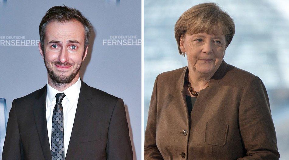 160826_EL News_Jan Böhmermann-Angela Merkel_Mathis Wienand_Getty Images_520868378_SOEREN STACHE_AFP_Getty Images-497672582