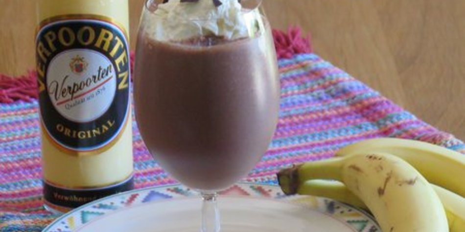 Bananeneis-Schokoladen-Smoothie