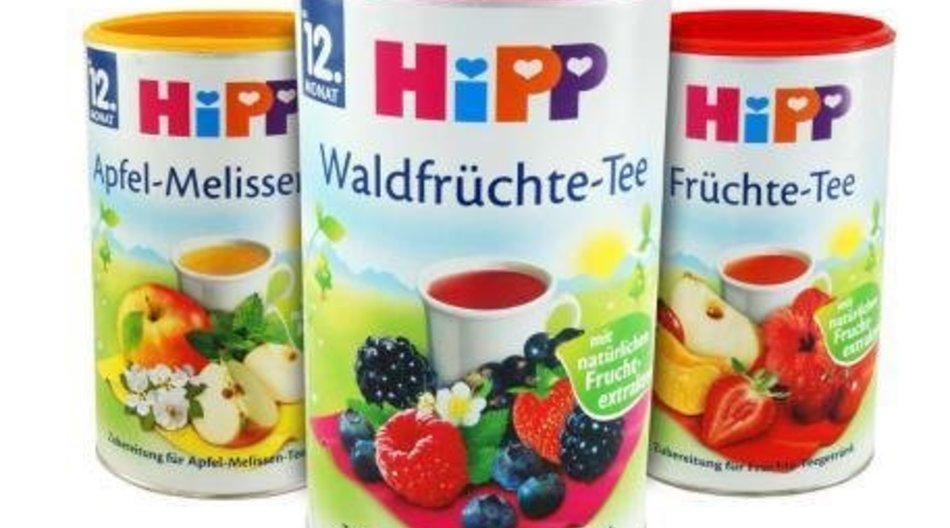 Hipp nimmt Kindertee vom Markt