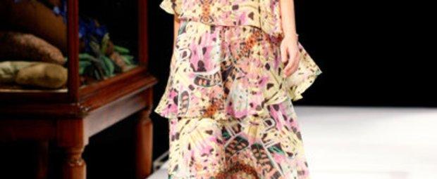 Mode im Frühling 2011: Leifsdottir auf der Fashion Week New York