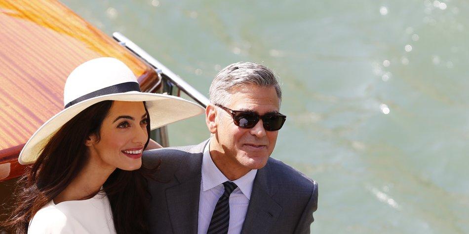 George Clooney und Amal Alamuddin: Flitterwochen auf den Seychellen?
