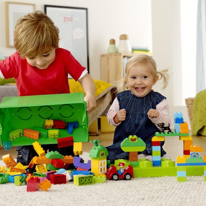 Spielen ist wichtig für die Entwicklung der Kinder.